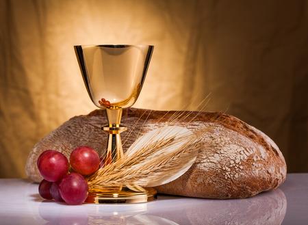 heilige communie Stockfoto