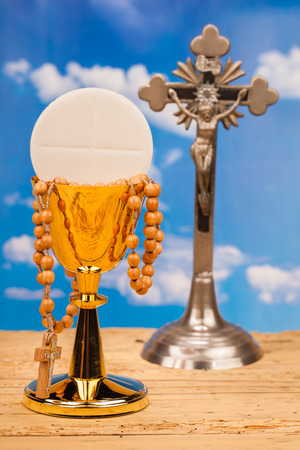 worship service: Eucharist, sacrament of  holy communion