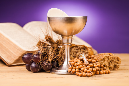 communion wafer: Eucharist, sacrament of  holy communion