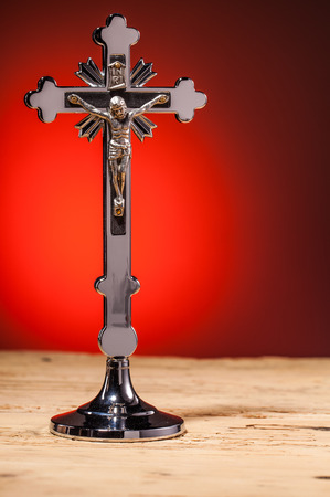 crucifix: christian crucifix Stock Photo
