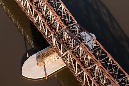 wag: aerial view of railwaybridge in Poland