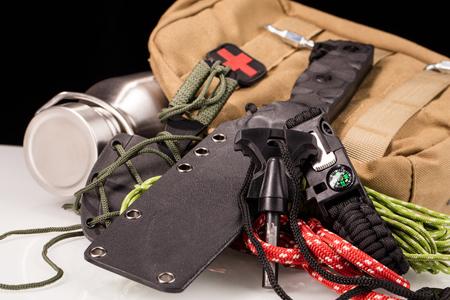 survival  gear Stock Photo