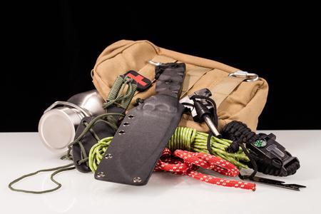 survival  gear Stockfoto