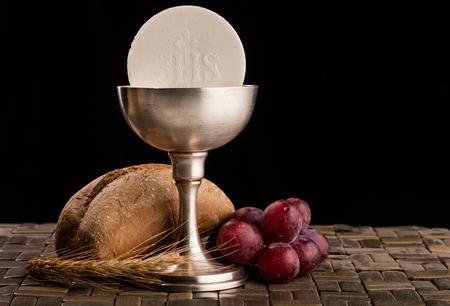 Christian communion composition Zdjęcie Seryjne
