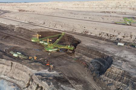 aerial view of the coal mine in Poland Archivio Fotografico - 123727361