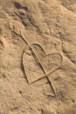 beach clay background Standard-Bild