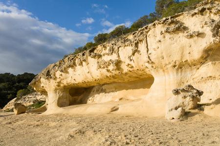 beach rock Archivio Fotografico - 117009276