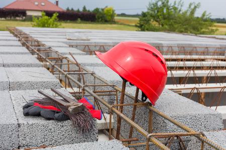 on the building site Archivio Fotografico - 117003593