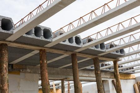 on the building site Archivio Fotografico - 117009552