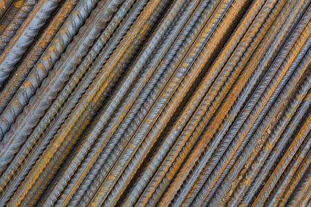 steel bars on the building site Archivio Fotografico - 117009561