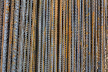 steel bars on the building site Archivio Fotografico - 117009562