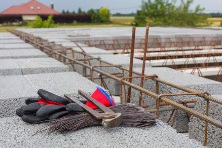 on the building site Archivio Fotografico - 117003704