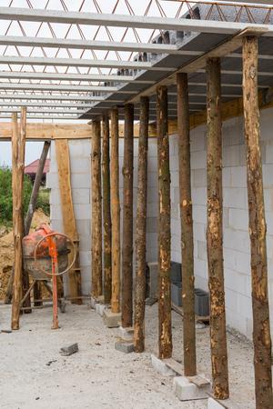 on the building site Archivio Fotografico - 117003706