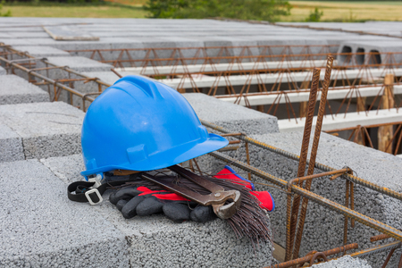 on the building site Archivio Fotografico - 117003711