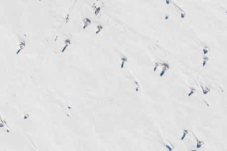 aerial view of the winter  mountain landscape in Poland Archivio Fotografico - 119664290