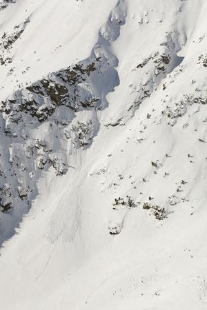 aerial view of the winter  mountain landscape in Poland Archivio Fotografico - 119668284