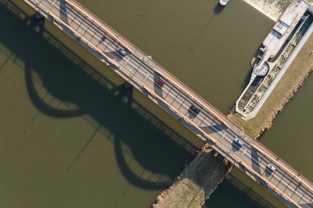 Aerial view of the Wroclaw city in Poland Archivio Fotografico - 123727467