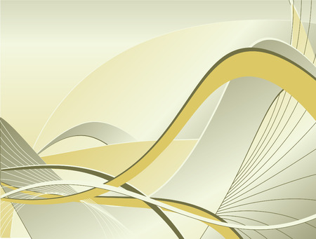 abstract vector backdrop with curved lines and stripes