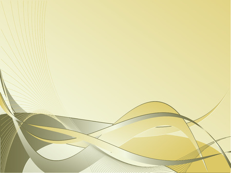 abstract vector striped backdrop with curves and lines Vector