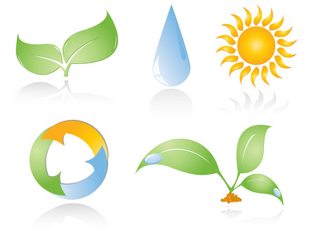 set of environmental icons.Elements for your design Vector