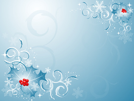 shiny elegant vector backdrop for winter holidays Stock Vector - 3942914