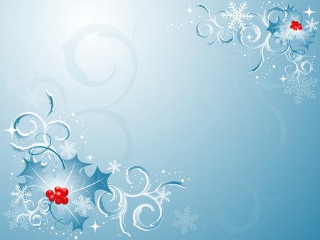 shiny elegant vector backdrop for winter holidays Vector