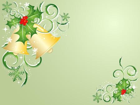 vector elegant decoration for Christmas. Elements for design Vector