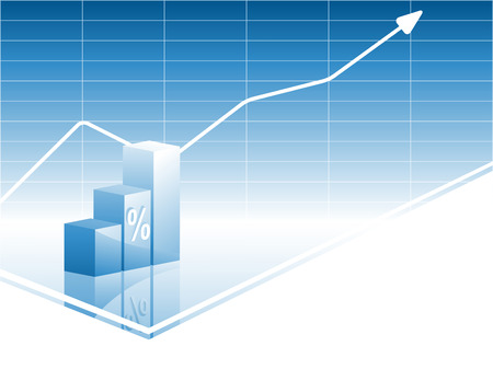 increases: vector business background with bar graphs. Elements for design Illustration