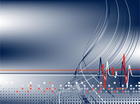 emergencia medica: vector moderno modelo de empresa de tratamiento m�dico