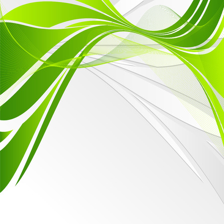 abstract vector wavy lines with copy space for your text
