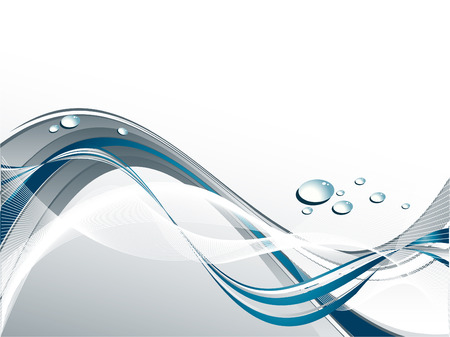 abstract background with water drops and copy space
