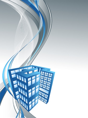 abstract  for real estate or construction company with copy space