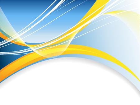 lineas onduladas: fondo abstracto con l�neas onduladas brillantes Vectores