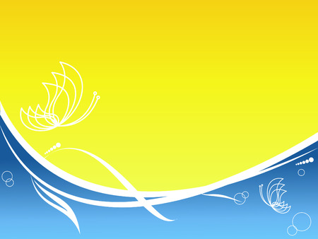 abstract colorfful background in blue and yellow colors Stock Vector - 6950782