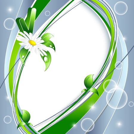 vector environmental background with copy space. Eps10 Vector