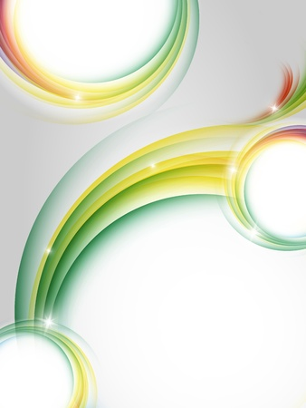 colorful vector vertical design with copy space. Eps10