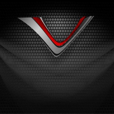 metallic texture copy space.  Vector
