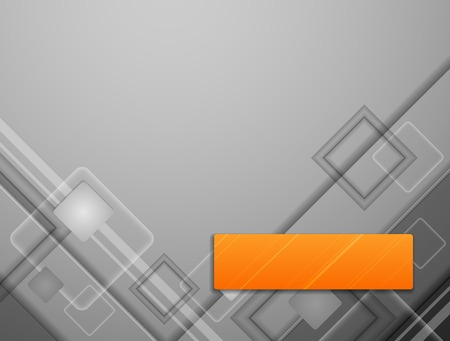 Abstract Vector Overlapping Modern Squares Background.