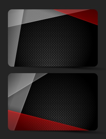 metallic textured vector template with mat coolorful glass.  Vector