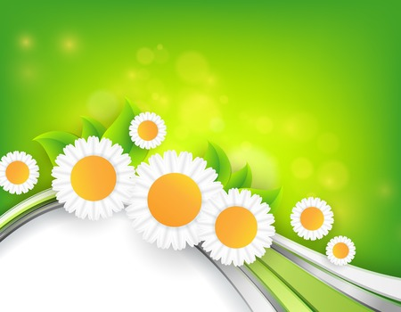 abstract  bright summer vector background with copy space . Eps10