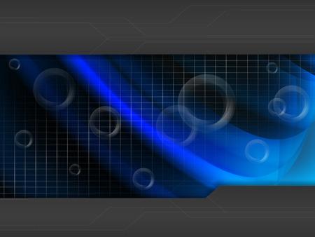 techno: abstract modern techno background. Illustration