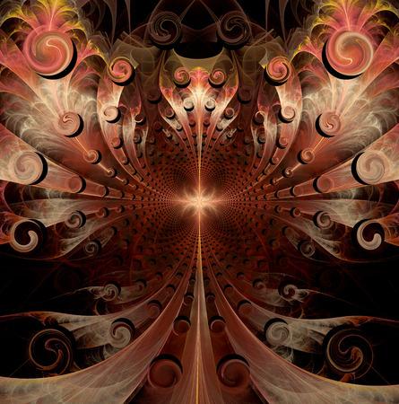 fractal background:   fractal artwork for design, art and entertainment
