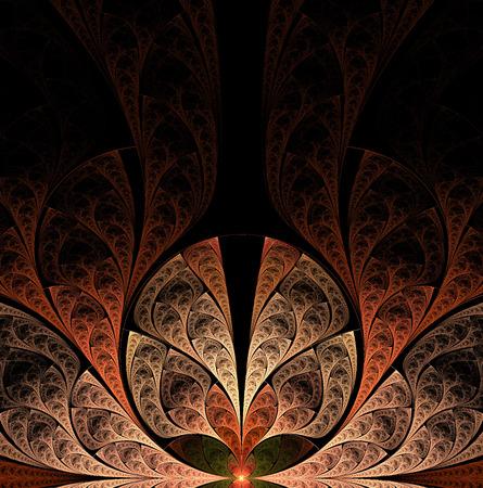copy space:  fractal artwork for design, art and entertainment