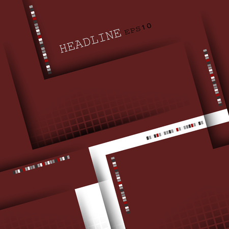 ��copy space �: corporate vector layout with copy space.