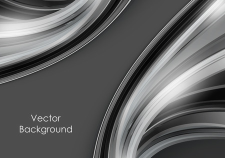 abstract vector background with shining lines and copy space.