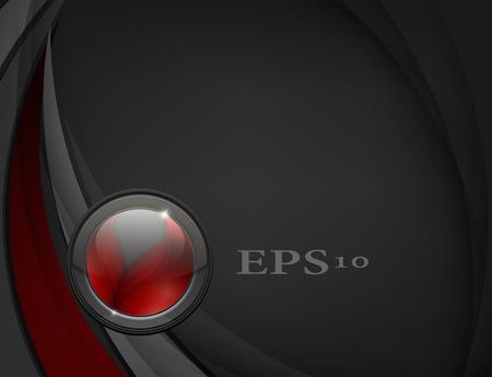 web backdrop: dark vector backdrop with web button. Elements for design.  Illustration