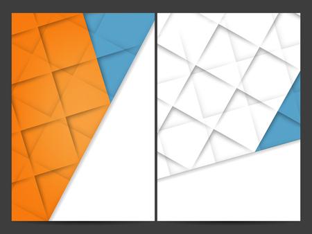 fractal background: vector geometric backgrounds set. Elements for design.