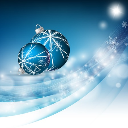 christmas greeting card: Christmas shining greeting card design.