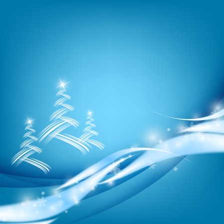 holiday greeting:  Christmas shining greeting card design.