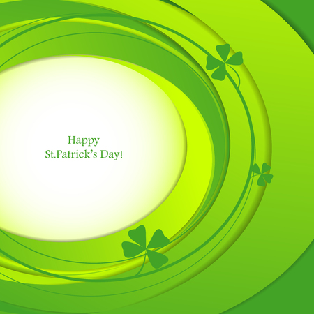 holiday background: St.Patricks holiday abstract background